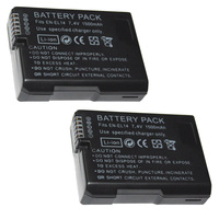 7,4 В 1500 мАч EN-EL14 батареи ENEL14 EN EL14 Камера Батарея пакет для Nikon D5200 D3100 D3200 D5100 P7000 P7100 mh-24
