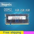 Hynix 1 gb 2 gb 4 gb DDR2 667 800 667 mhz 800 mhz PC2-6400 sodimm PC2-5300 so-dimm sdram de Memória Ram Memoria Para Computador Portátil Notebook