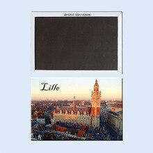 цена на Grand' place, Lille city centre Fridge Magnets 21726 holiday destination Souvenirs