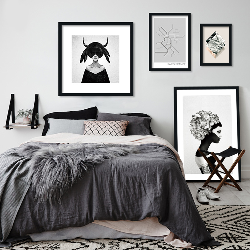 Wall Art Canvas Painting Posters and Pris