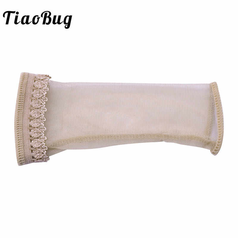 TiaoBug Mens Lingerie See Though Lacework Open Penis Cover Sheath Tights Underwear Crotchless Men Sexy Costumes Erotic Panties