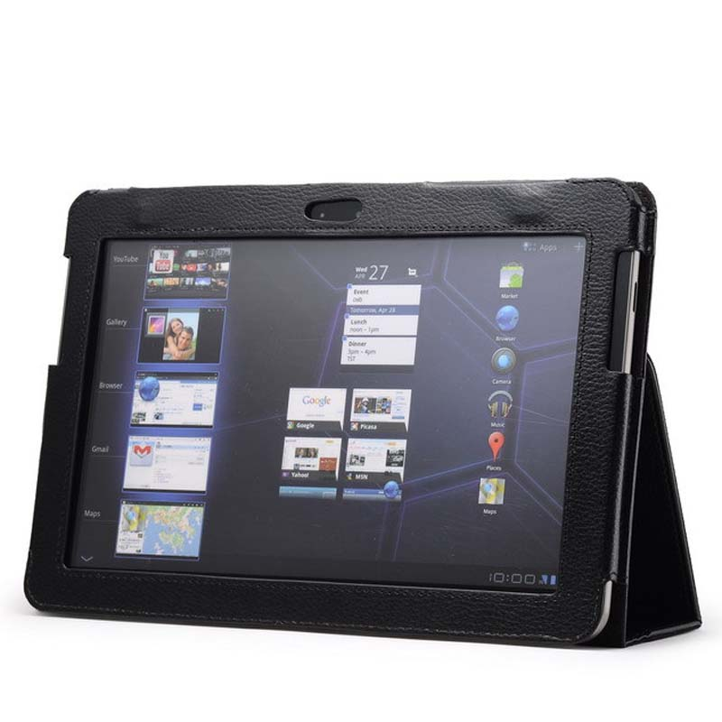 for <font><b>Samsung</b></font> Galaxy Tab 2 10.1 inch GT-<font><b>P5100</b></font> P5110 P5113 P7500 P7510 Tablet Case Leather PU Stand Folio Put Stylus Pen image