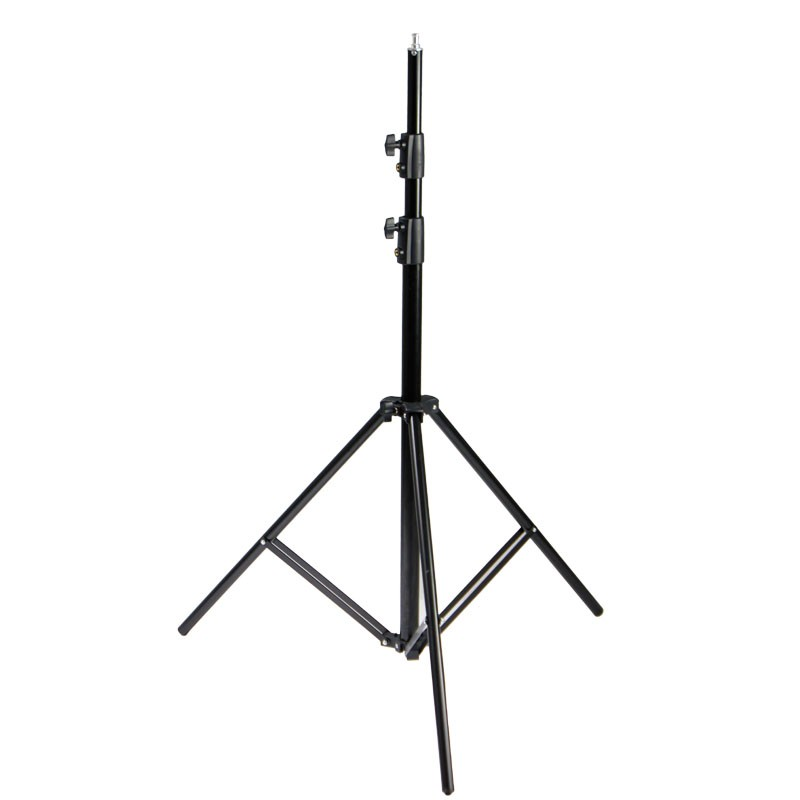 240CM Air Cushioned Light Stand With Included Adaptor To Support 1/4 Photo Equipment