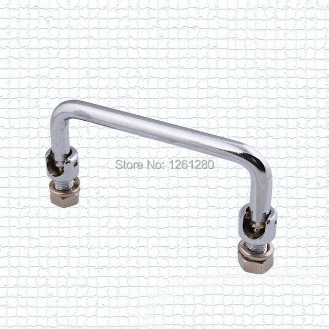 free shipping furniture handle knob Power Box Folding Handle drawer hardware industrial  box handle iron handle