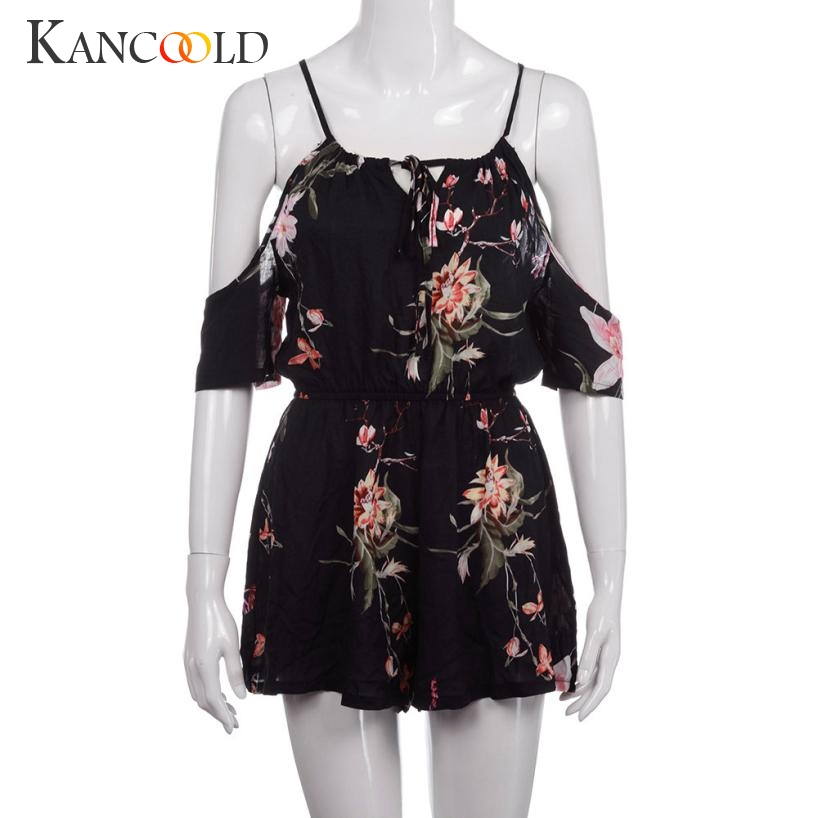 2017 New Fashion Elegant Womens Playsuit For Holiday Ladies Summer Jumpsuit Hot Sale July0720 1