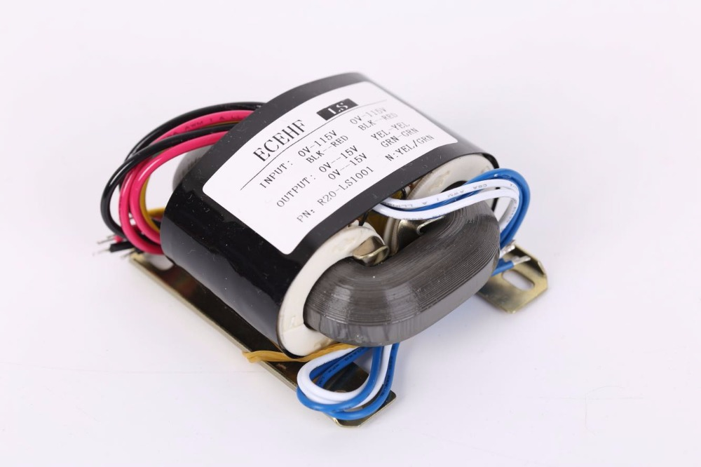 15V 1A 15V 1A Transformer R Core R20 custom transformer 115V/115V 30VA copper shield DAC pre-amplifier HIFI decoder