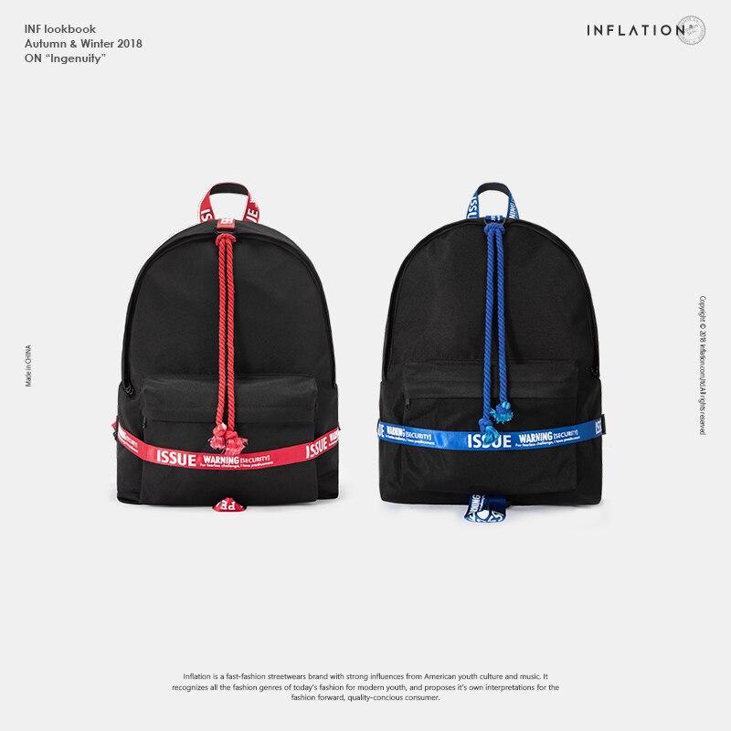 Sinnvoll Inflation Rucksack Frauen Männer Reisetaschen Männer Vintage Schule Taschen Brief Band Mode Zurück Pack Schule Tasche Für Junge 190ai2018 Rucksäcke Herrentaschen