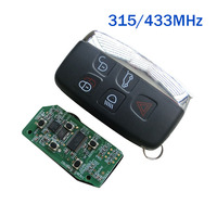 433/315Mhz Keyless Entry Car Remote Key for Land Rover Range Rover Sport Evogue LR4 Luxury 2010 2015 Smart Car key