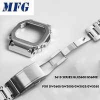 金属時計バンド bezelStrap DW5600 GWM5610GW5000 ステンレススチール時計バンドケースフレーム gshock ブレスレットアクセサリー修復ツール