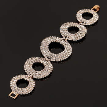Silver Plated Crystal Bracelets For Women