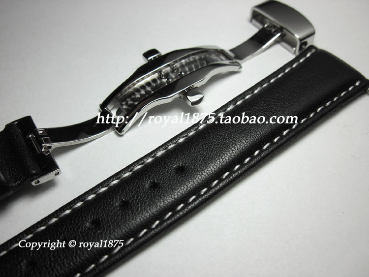 18 19 20 21 22mm High Quality Handmade Straps Men And Women Watch Band Leather Butterfly Buckle For MIDO IWC Tissot Seiko+ Tools