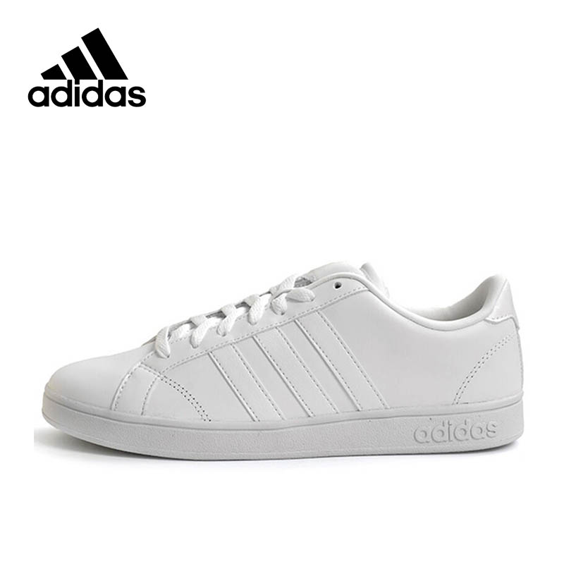 Official Adidas NEO Label BASELINE Men's Leather Low top Skateboarding Shoes Sneakers Classic Shoes New Arrival official new arrival adidas neo label baseline men s leather low top skateboarding shoes sneakers classic shoes