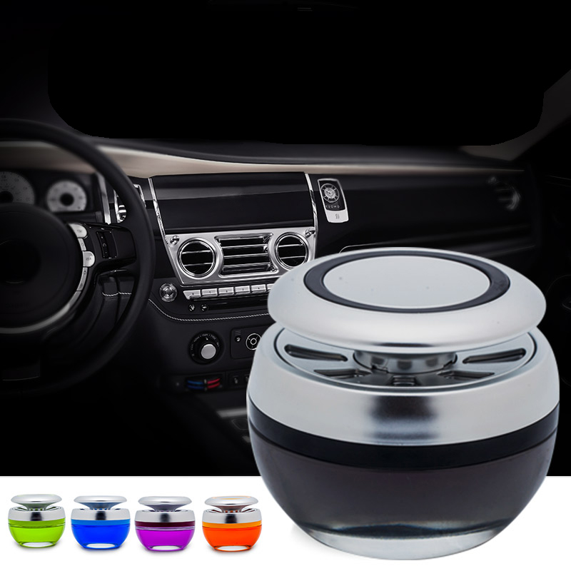 In Flavor Provided Car Fragrance Perfume Fresh Smell Solid Air Freshener Auto Interior Dashboard Decoration Accessory Trim Diffuser Adornment Gifts Fragrant