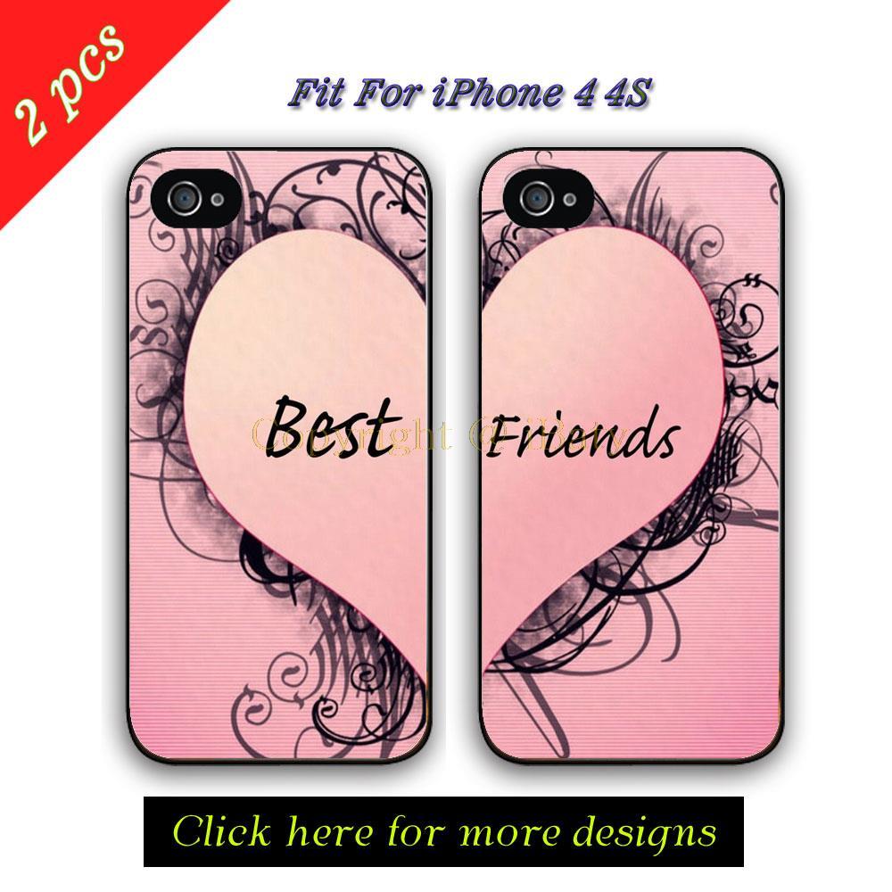Achetez en Gros Mignon iphone 4 cas pour les couples en Ligne u00e0 des ...