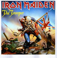 Iron Maiden the trooper printing rock tee vintage fashion rock t shirt