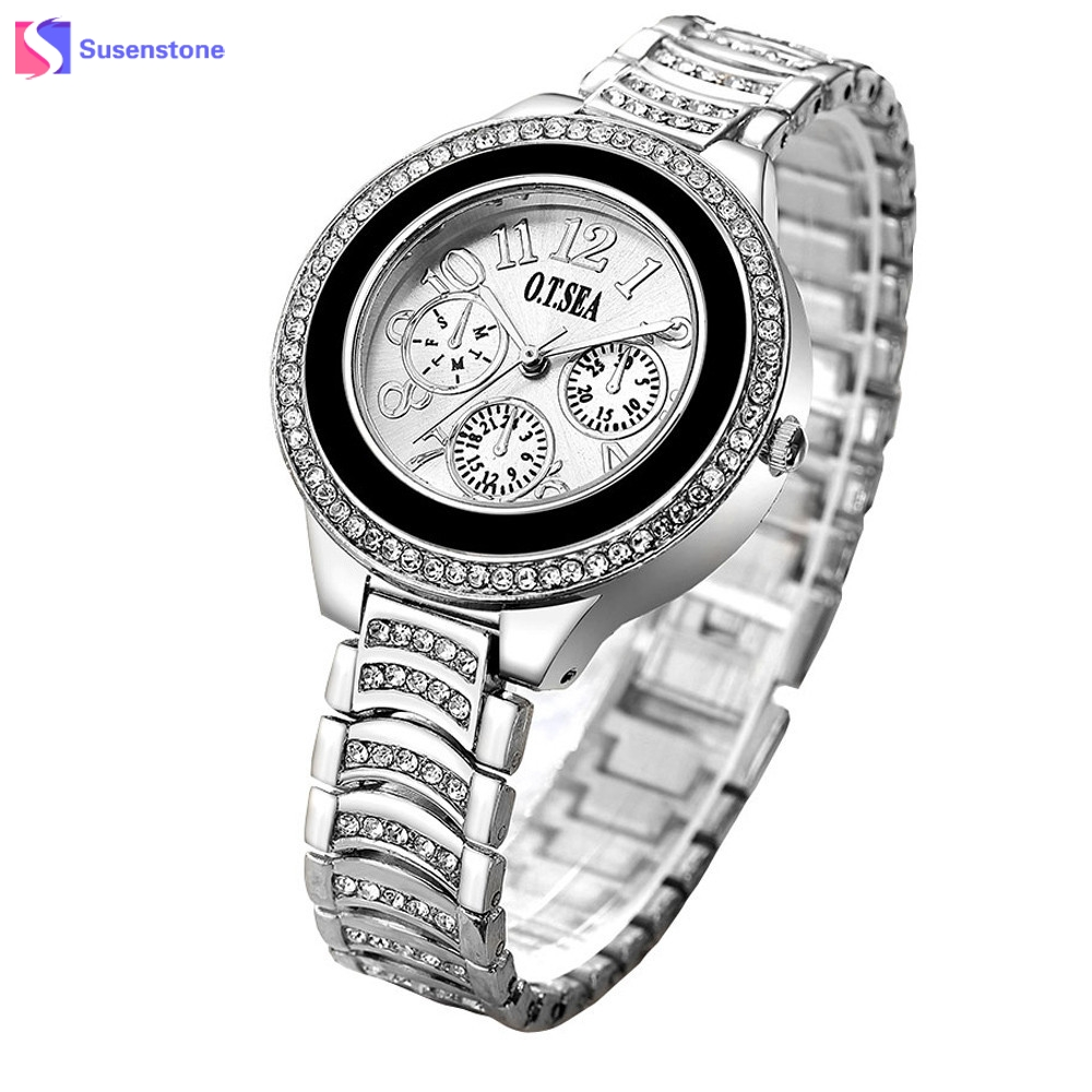 Top Luxury Brand Women Rose Gold/Silver Rhinestone Analog Quartz Wrist Watch Ladies Elegant Bracelet Watches Women reloj mujer внешний накопитель 16gb usb drive