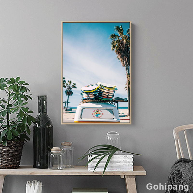 Gohipang-Modern-Minimalistic-Abstract-Leaves-Beach-City-Landscape-Illustration-Canvas-Painting-Art-Print-Poster-Picture-For (2)