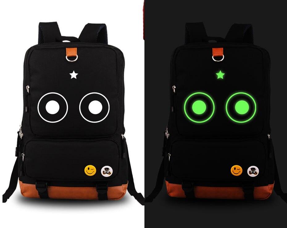 Hot japon Keroro lumineux Cosplay sac à dos dessin animé mignon grenouille toile étudiant cartable unisexe sac de voyage