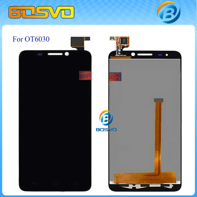 LCD Display Screen with Touch Digitizer for Alcatel One Touch Idol 6030 OT6030 6030D OT-6030D OT-6030X with Tracking number