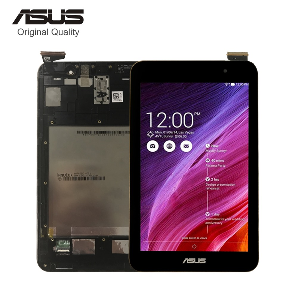 For Asus Memo Pad7 ME176 ME176C ME176CX K013 LCD Display Matrix Touch Digitizer Display Assembly with Frame Replacement Parts 5piece lot 7inch lcd screen display for asus memo pad 7 me176 me176cx k013 touch screen digitizer glass lens replacement