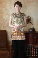 2014 New Fashion Chinese Women S Lady S Clothing Silk Blouses Shirt Tops Plus Size S