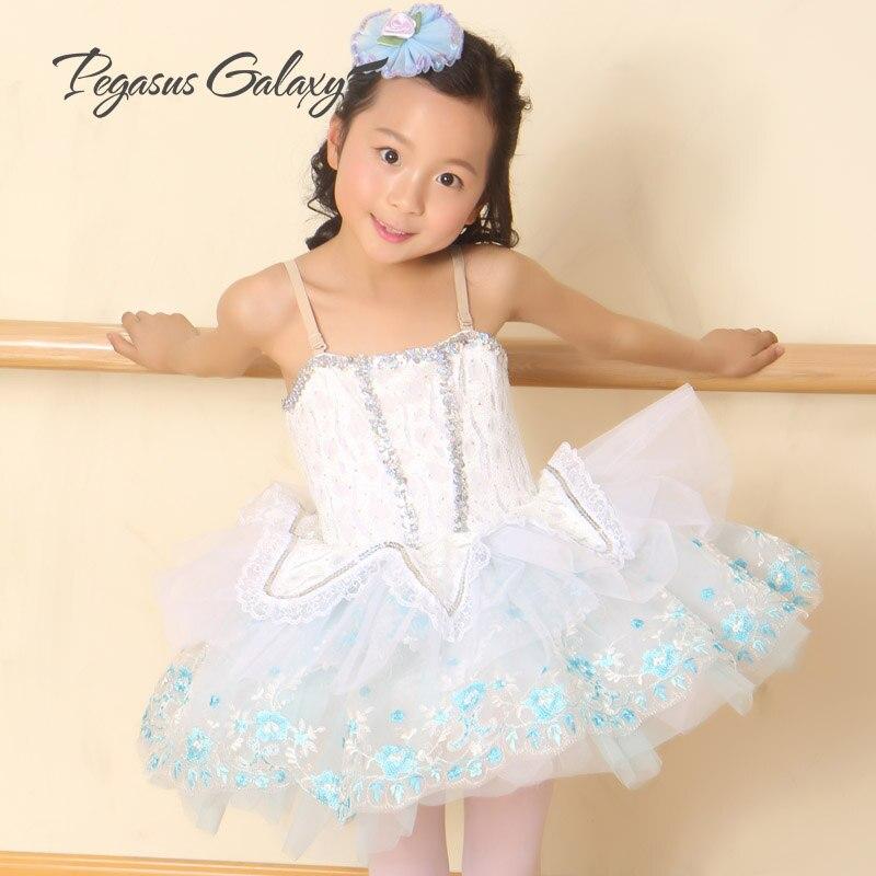 3-17Y Children Kids Lace & Sequins Ballet Tutu Dress Girl Disfraz Infantil Gymnastics Leotard For Women Adult Ballerina Costumes