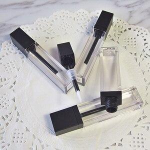 Image 3 - Lápiz labial vacío líquido para maquillaje, tubo de brillo de labios transparente de alta calidad, envase de embalaje, 20 unids/lote, 7ml