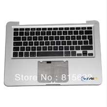 NEW FOR Macbook pro A1278 Palmrest Top case with UK keyboard 2009 2010