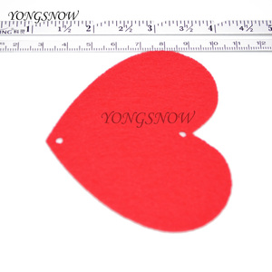 Image 3 - 5 مجموعات (80 قطعة) 2 حجم القلب جارلاند مع 3m حبل حلية لتقوم بها بنفسك الستار ورأى غير المنسوجة للمنزل حفل زفاف عيد الحب الديكور