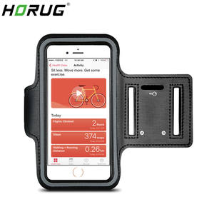 HORUG Waterproof Sports Phone Armband For iPhone xs max Running Armband Case Holder For Phone On Hand Mobile Brassard Telephone