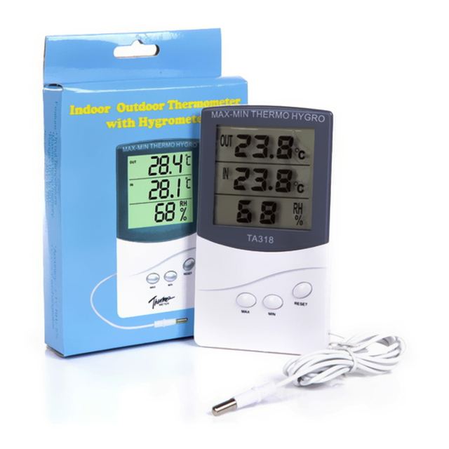 KTJ indoor outdoor thermometer indoor temperaturanzeige ...