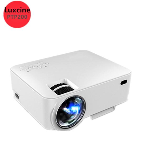 Original Luxcine Ptp200 Projector 2016 Newest Mini Led Portable For Video Tv Movie Hdmi