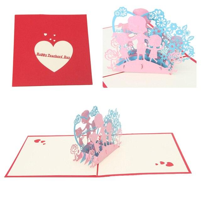 Populaire 3D Carte De Voeux Pop Up Papier Découpé Carte Postale D  FB87
