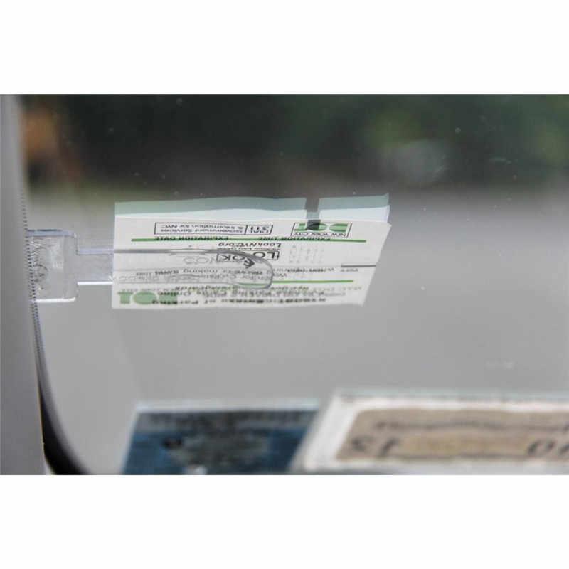 Newbee 1Pcs Auto Styling Windschutzscheibe Karte Verschluss Aufkleber Parkplatz Ticket Halter Clip Automotive Interne Organizer Zubehör