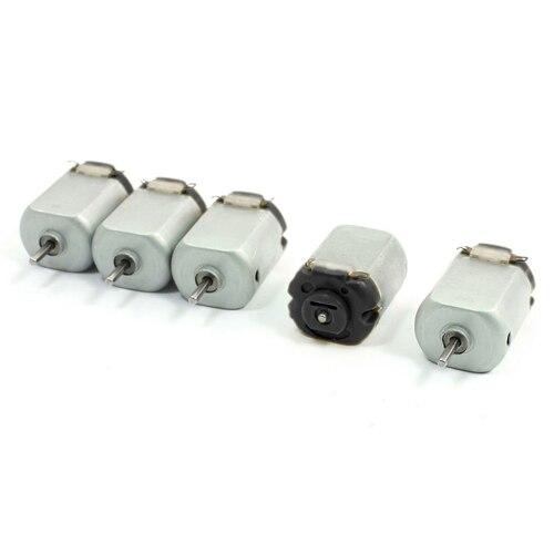 EWS 130-16140 6V 12500RPM DC Motor w Varistor for Smart Car Model Toy