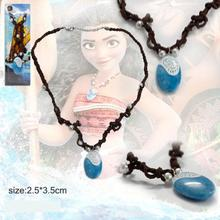 Movie Moana Necklace Key Ring Pendant Anime Figures Action & Toy Figures One Piece Action Figure Good Quality Anime Figure