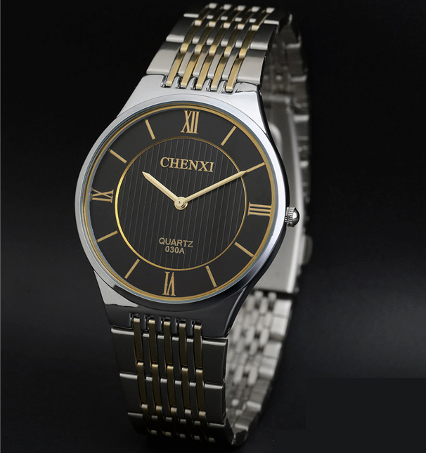 2017 Full Stainless Steel Watches Men Top Brand Luxury Famous Quartz watch Waterproof Business Wristwatches Hodinky