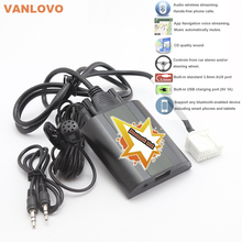 Bluetooth Link Car Kit Bluetooth Streaming Audio Adapter With Aux-in Interface & USB Charger for Honda Civic