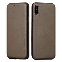 Flip Case For IPhone X Leather Card Slot Phone Bag Full Coverage Protector Cover For IPhone
