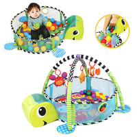 Winter Baby Crawling Pad Blanket Tropical Rainforest Children's Game Activity Gym Ball Pit Anti Urine Baby Playpen Fence Pool