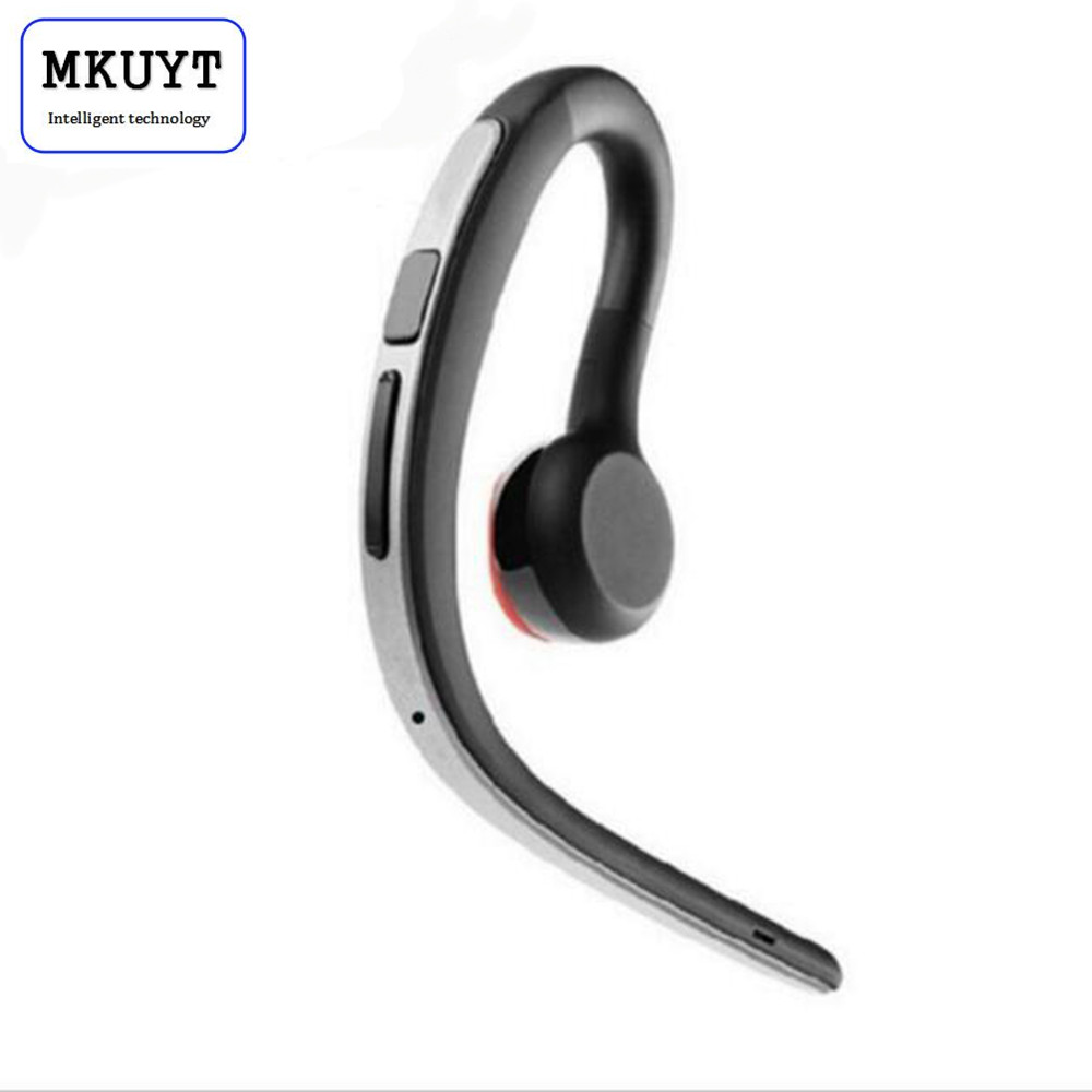 MKUYT Handsfree wireless Bluetooth headsets earphone sweatproof sports headphone with mic voice control earphone with earbud lexin 2pcs max2 motorcycle bluetooth helmet intercommunicador wireless bt moto waterproof interphone intercom headsets