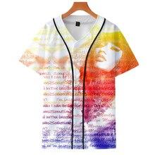 LUCKYFRIDAYF Good Nicki Minaj 3D Soft Summer Short Sleeve Baseball T-shirt Pop Print Women/Men Clothes 4XL