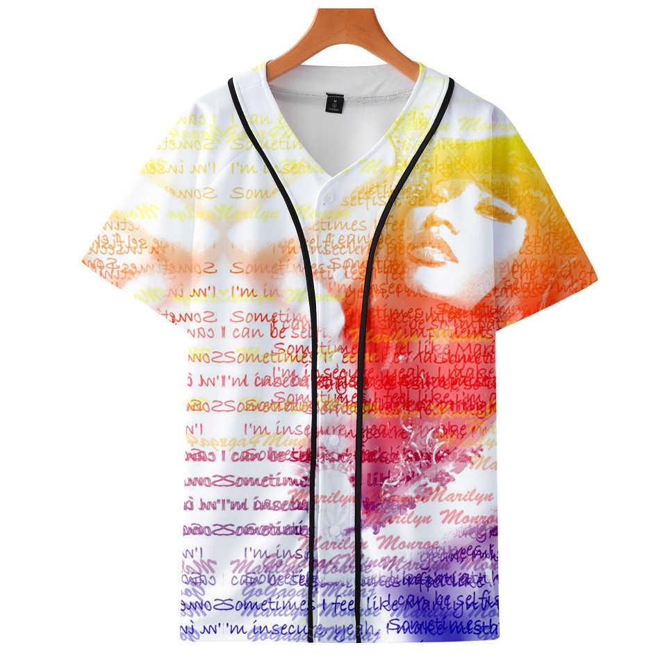 LUCKYFRIDAYF Good Nicki Minaj 3D Soft Summer Short Sleeve Baseball T-shirt Pop Print Women/Men Baseball T-shirt Clothes 4XL