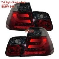 Smoke Red housing 2001 2004 for BMW 3 Series E46 320i 328i 325i LED Tail lights Assembly SONAR brand Top Quality