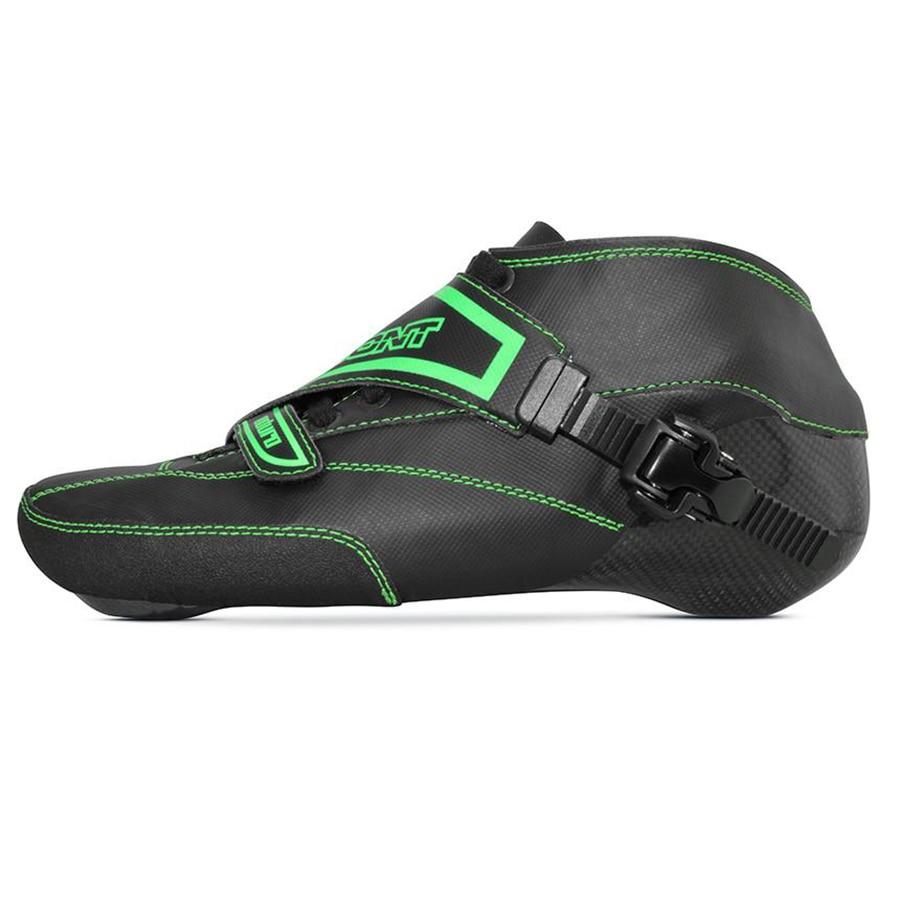 100% Original Bont Enduro 2PT Speed Inline Skates Heatmoldable Carbon Fiber Boot 195mm Disctance Skating Boot Patines Shoes цена