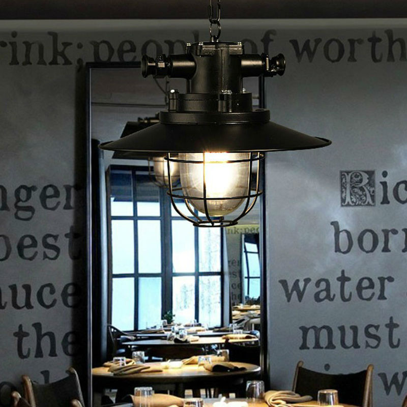 loft the American village style retro heavy metal industry personality living room restaurant and bar pendant lamp удобрение универсал 2 фертика 1 кг