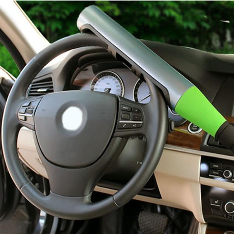 Car Universal Steering Wheel Lock Car Anti-theft Baseball Lock Security Self-defense Supplies Car Interior Accessories Theft