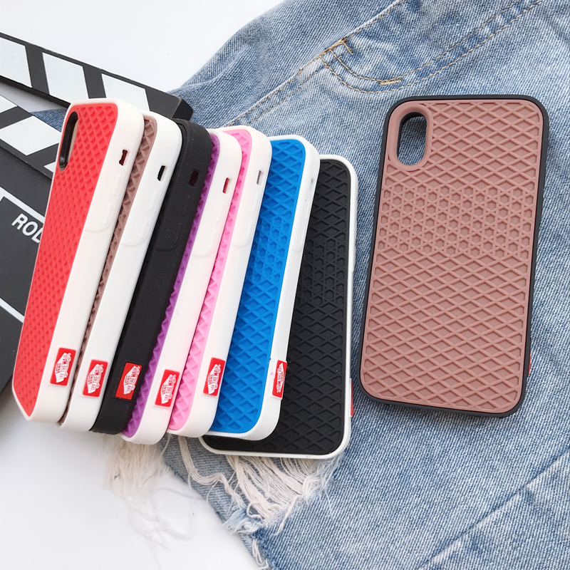 newest ea327 4ccd3 Details about Hot Street Trend VANS Waffle brand Soft silicon cover case  for iphone 6 6S plus
