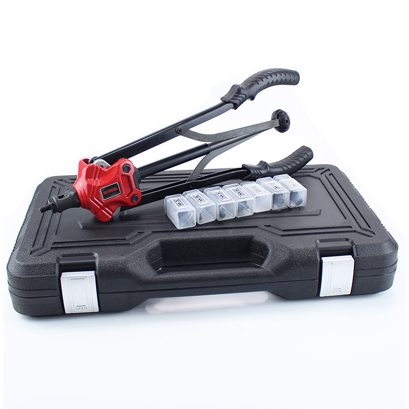 YOUSAILING 16 400MM Hand Nut Riveter Gun Quick Unload Nuts Hand Riveting Tool New Arrival Case