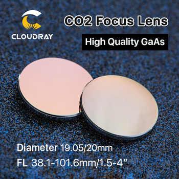 Cloudray GaAs Focus Lens Dia. 19.05 / 20mm FL 50.8 63.5 101.6mm 1.5-4